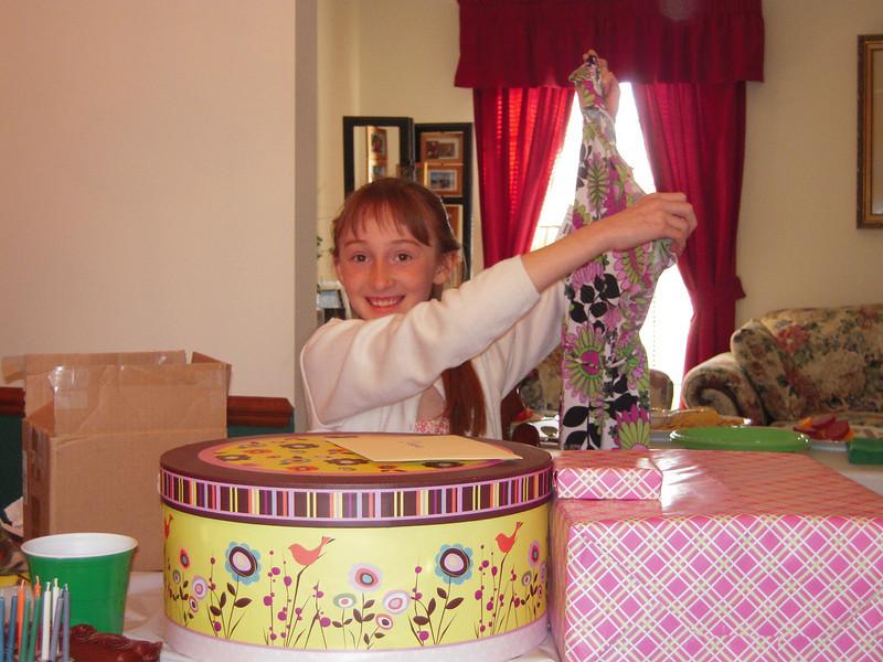 Birthday gift from Grandpa & Grandma Thompson