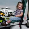 Hailey in Helicopter Air Show 2011