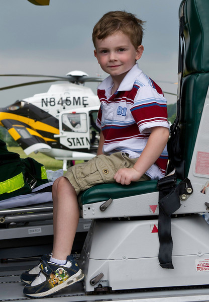 Coop in Helicopter Air Show June 2011