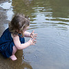 Hailey in the creek may 2011