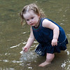 Hailey in water camping may 2011