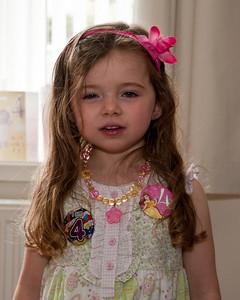 Chloe's 4th Birthday & Party