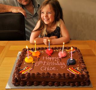 Chloe's 5th Birthday May 2011
