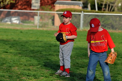 1st T-Ball Game 4-26-2011