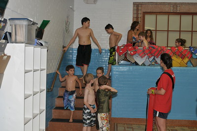 Swim Party at the YMCA