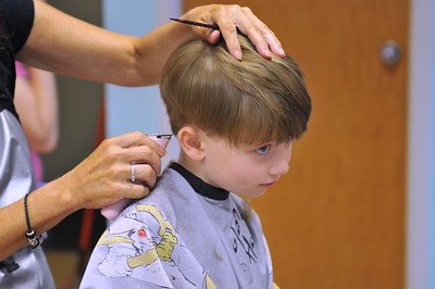 First Haircut at Barber Shop (During)