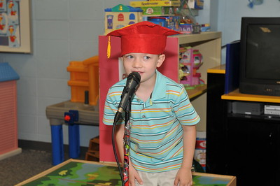 Daycare Graduation - We learned are A-B-C's June 11, 2010
