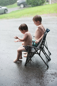 Playing in Rain 8-05-2012