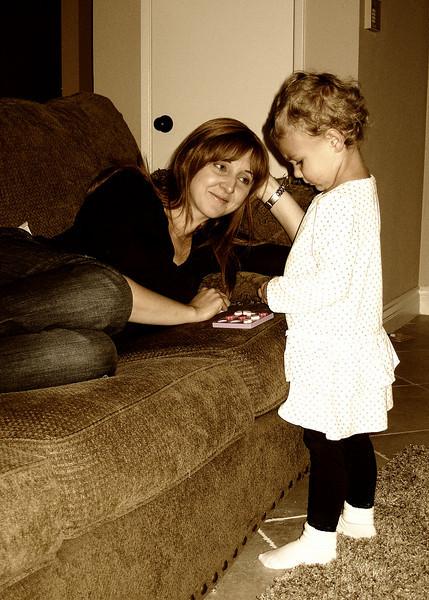Sweet Mom and Georgia
