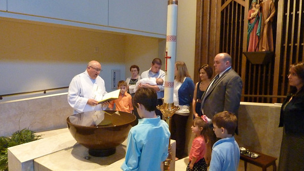 Colby's Baptism