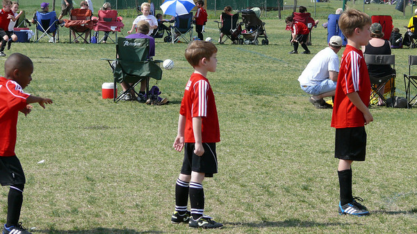 Connor Soccer Game 4/3/11
