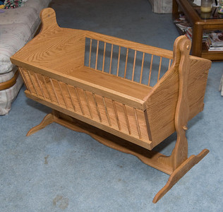 Cooper's Cradle crafted by Grandpa Fred