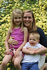 Sarah, with Allison and Grayson