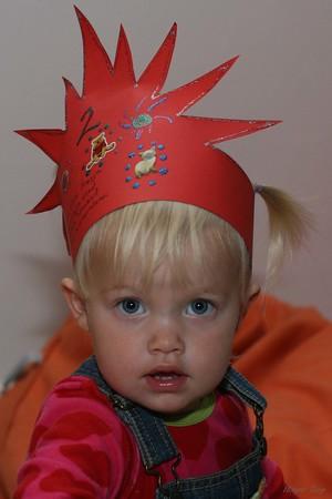 Elín Freyja 2ja ára 4. október 2007