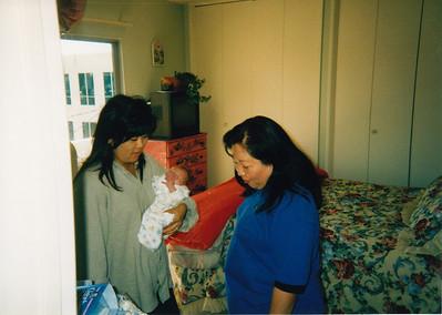 Liz, Aunt Barbara and Emi