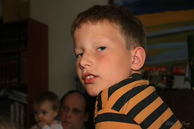 Hlynur Snær 10 ára 24. maí 2007