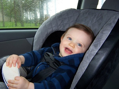Happy!  We're going for a car ride!