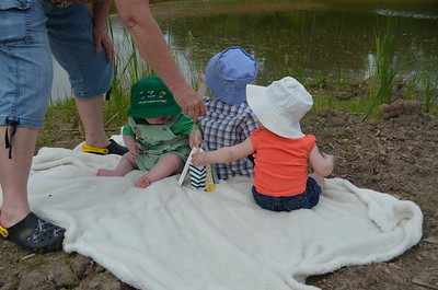 father day all 3 kids fishing etc