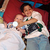 April 13th - helping with little brother Gavin