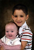 May - school picture with little brother Gavin