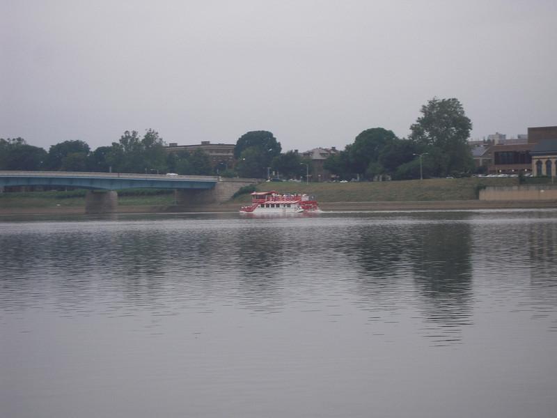 Paddle Boat on Susquehanna River Harrisburg, Pa