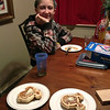 Mickey Mouse waffles!<br /> Dallas Christmas 2012