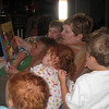 After all that water and sun, nothing beats relaxing with some stories read by grandma.