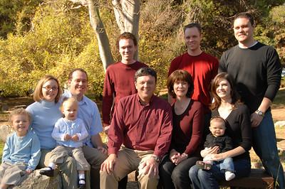 Grandpa's Birthday with the Grandkids 2006
