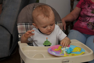 Gregory 1st Birthday