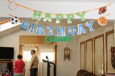 Gregory's 4th Birthday