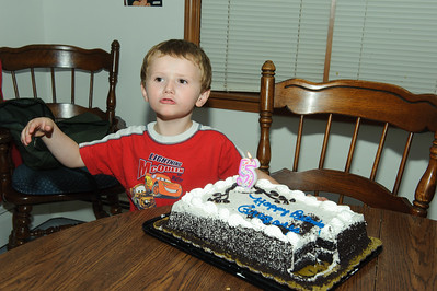 Gregory's 5th Birthday