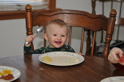 Boy's Eating 3-18-2012