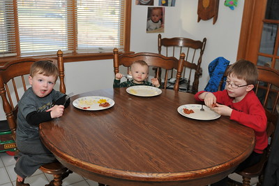 Boy's Eating 3-18-2012