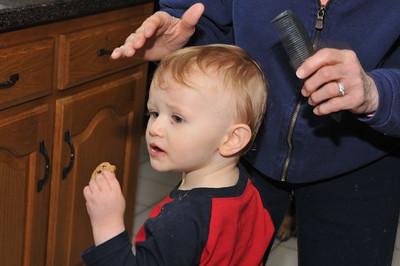 First Haircut 3-16-2012