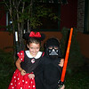 MINNIE MOUSE AND DARTH VADER