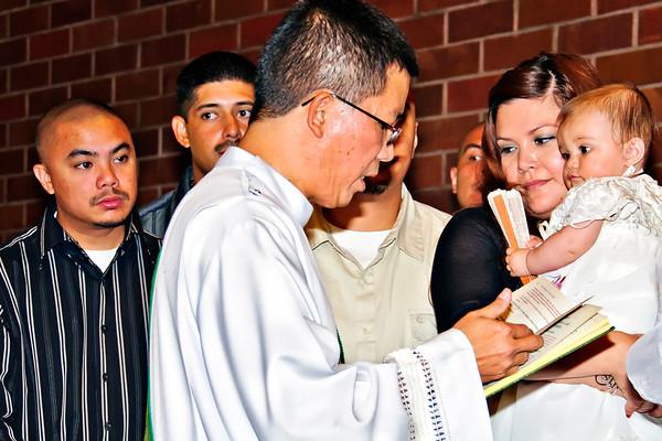 Halie Baptism 2010