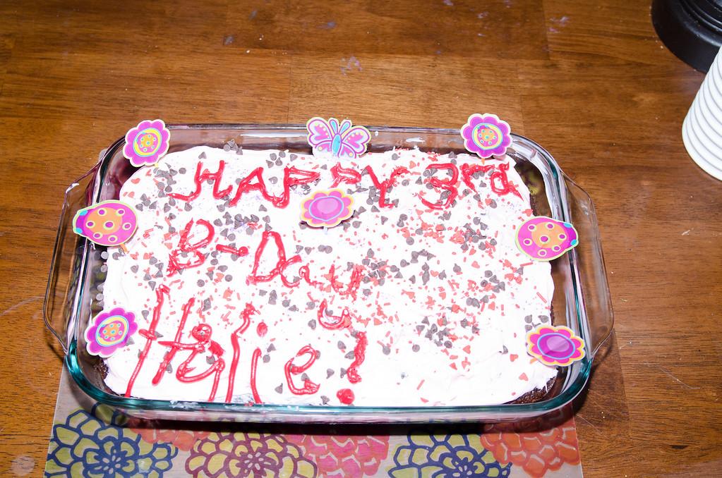 Halie's 3rd Birthday