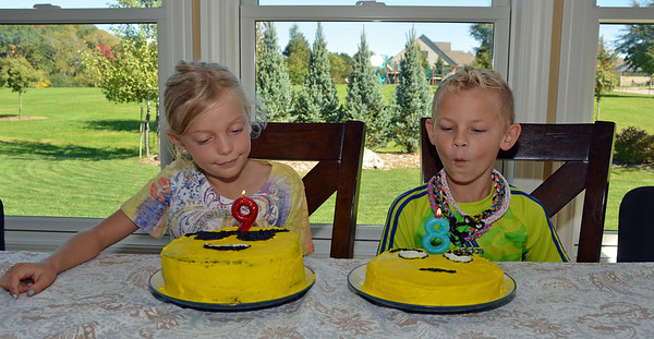 Isabel & Caden's Birthday 2016