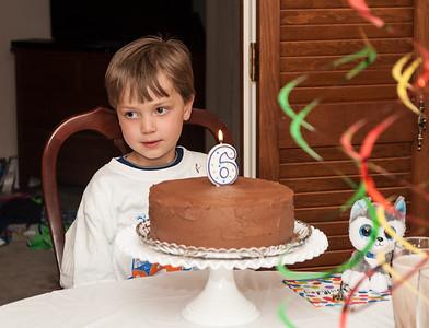 Jackson's Sixth Birthday