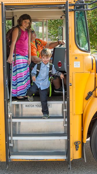 Jax' First Day of Kindergarten