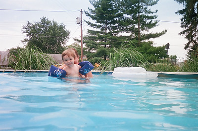 Swimming at Nanny's