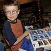Joshua was happy about receiving Star Wars legos.