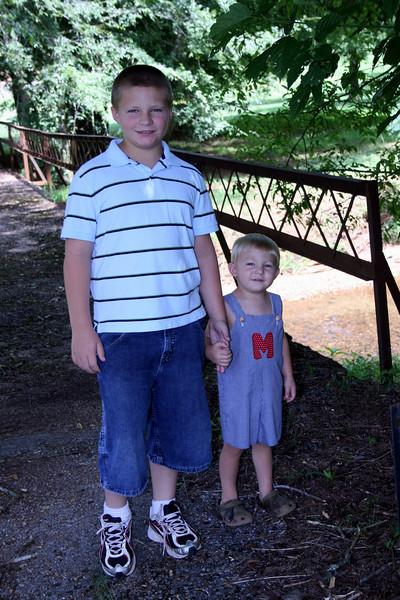 July 2010 Matthew and Mason
