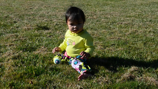 Video of Kaylanni at the park.