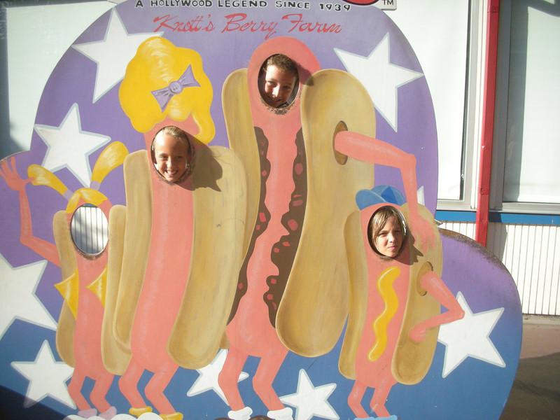 Three Hot Dogs!