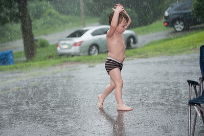 Playing in the Rain 8/5/12