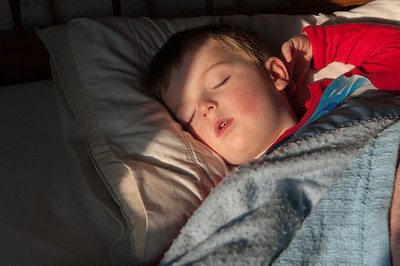 Kyle Sleeping 11-15-2012