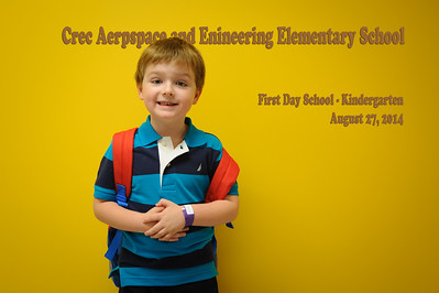 2014-08-27 First Day School