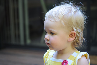 Leah Summer age 14 months