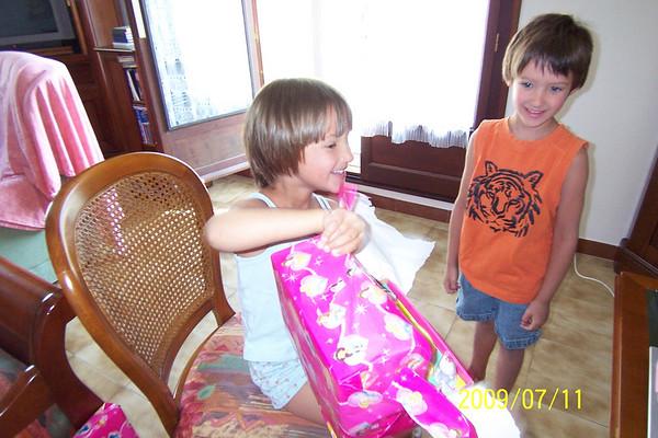 Madeleine's Birthday 2009